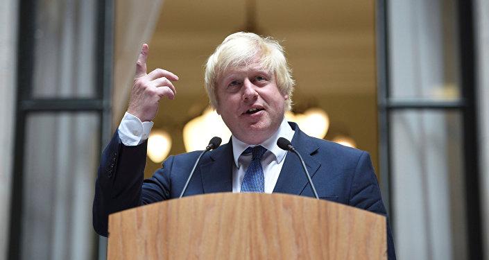 Šéf britské diplomacie Boris Johnson. Ilustrační foto