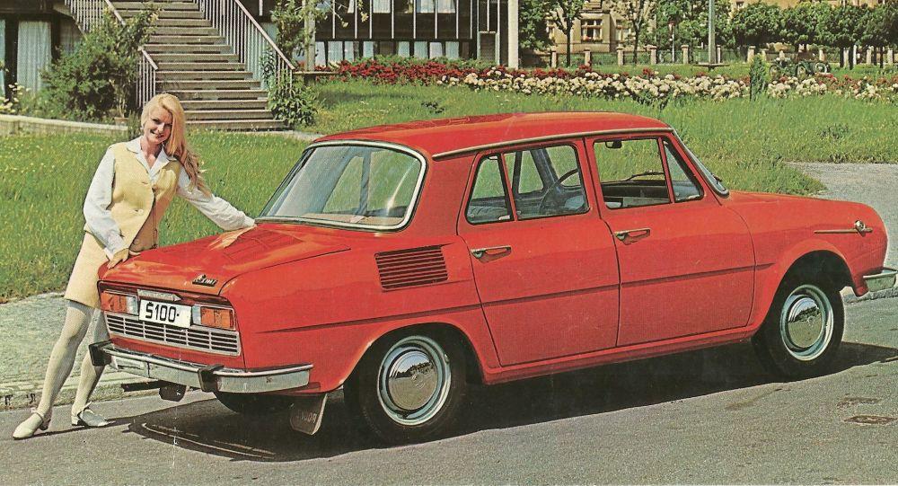 Reklama automobilu Škoda S100