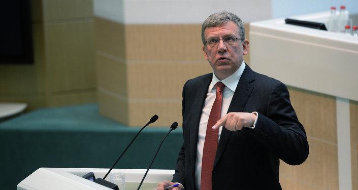Exministr financí a předseda rady Střediska strategických elaborátů Alexej Kudrin