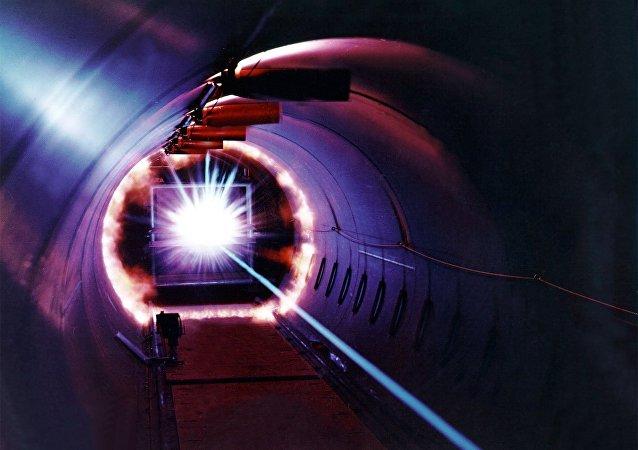 Laser. Ilustrační foto