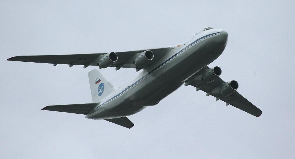 Letadlo An-124 Ruslan
