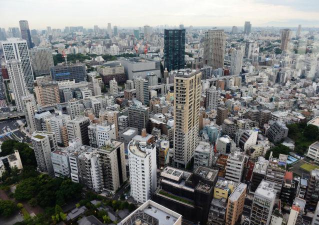 Pohled na Tokio. Ilustrační foto