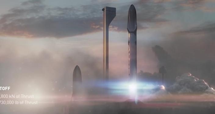 ¨Space X představil video letu na Mars