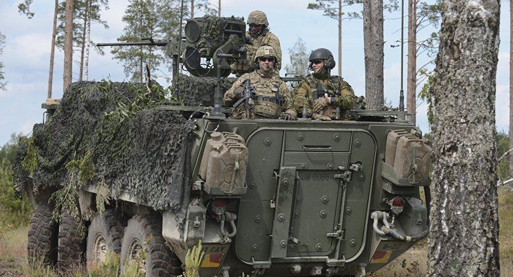 Cvičení NATO Saber Strike 2016 v Estonsku