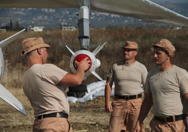 Ruské letectvo v Sýrii. Archivní foto