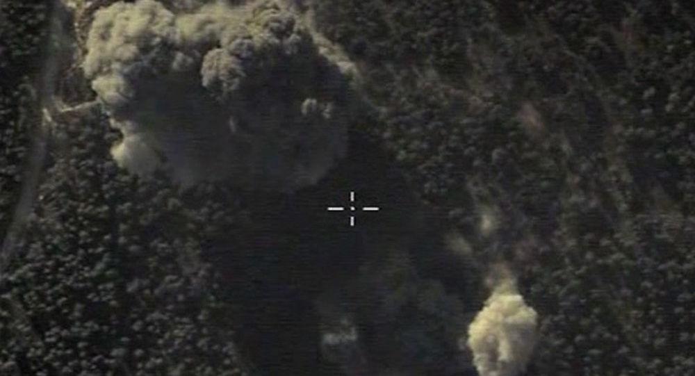 Letecké údery ruských VKS v Sýrii