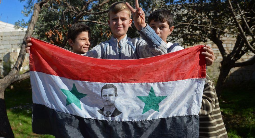 Děti v Aleppu