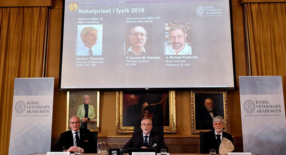 Členové Královské švédské akademie věd, 2016.