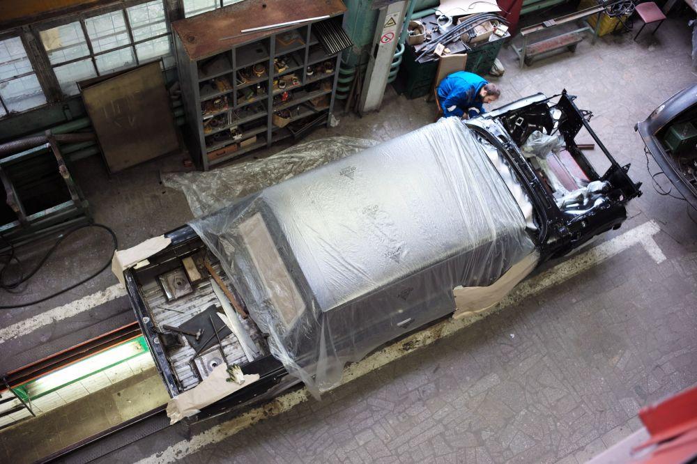 Automobilka AMO ZIL v Moskvě