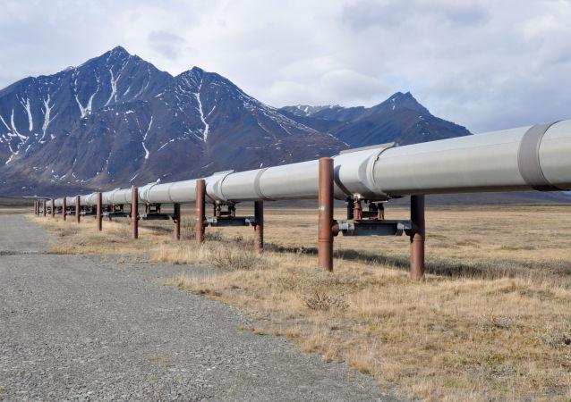 Potrubí s ropou na Aljašce