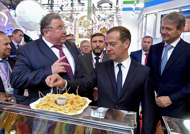 Předseda ruské vlády Dmitrij Medveděv