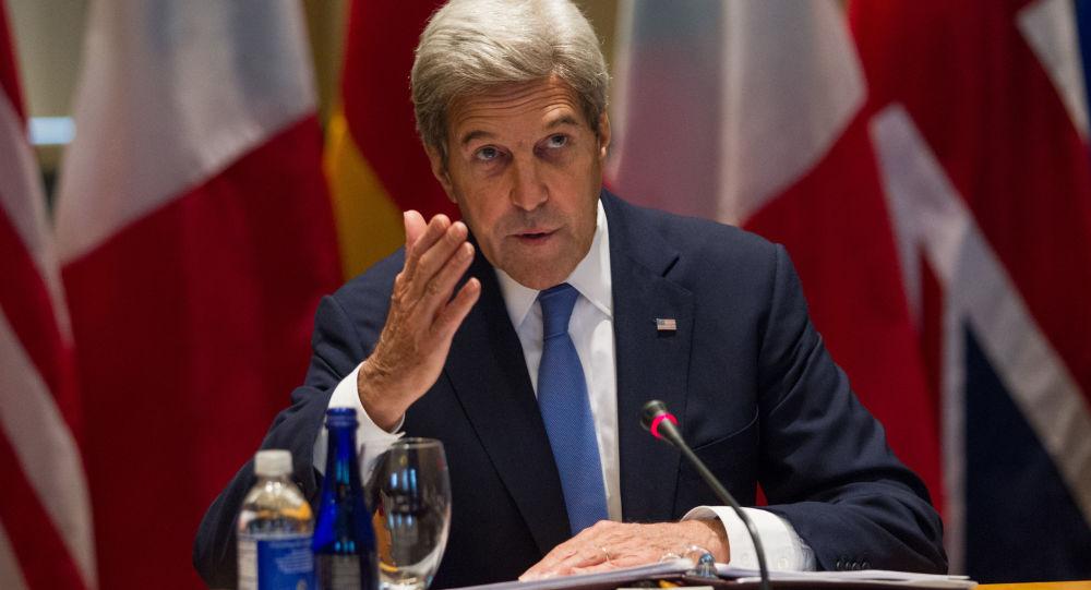 Ministr zahraničních věcí USA John Kerry