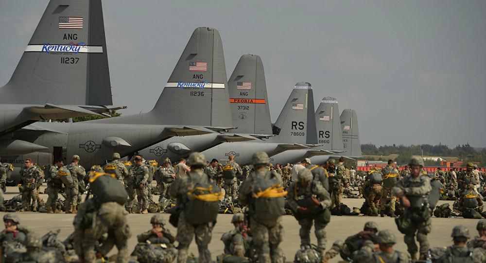 Americká letecká základna Ramstein v Německu