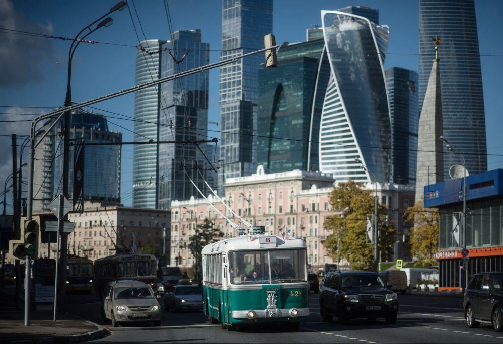 V Moskvě oslavili 83leté výročí zahájení pravidelné trolejbusové dopravy
