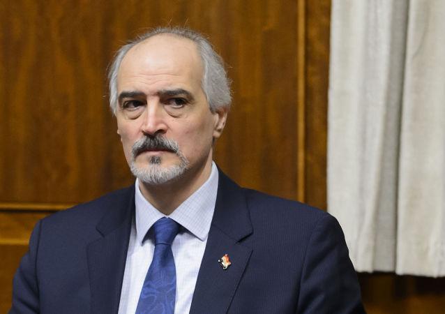 Syrský zástupce při OSN Bašár Džaafari