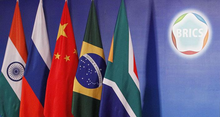 Vlajky členských států BRICS