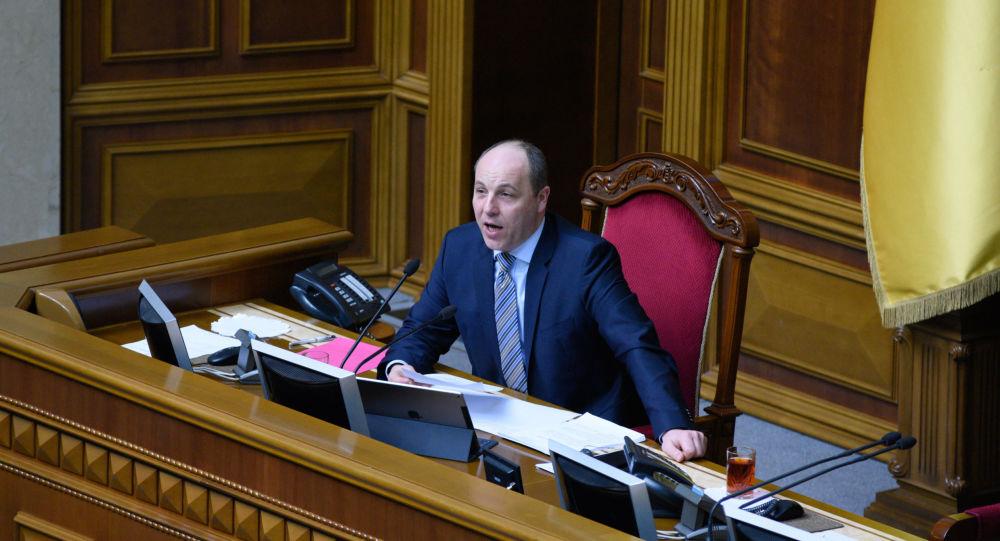 Odvrátím útok ruských tanků na Prahu, slíbil ukrajinský předseda Andrij Parubij