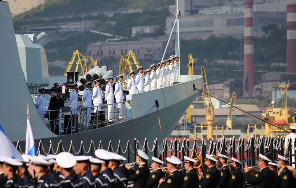 Mořská součinnost Ruska a Číny