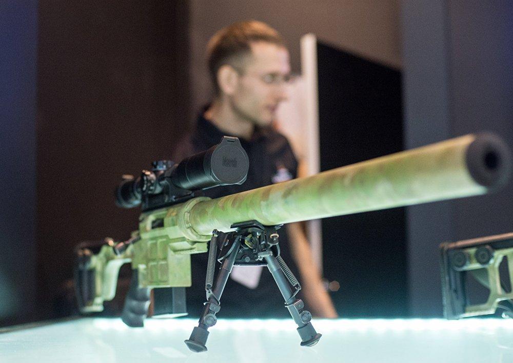 Interpolitex: kulomety, odstřelovačské pušky, chytré náramky