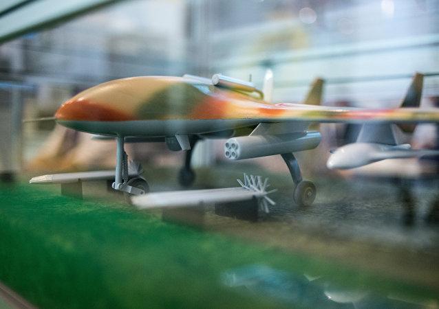 Běloruský dron Burevestnik MB. Ilustrační foto
