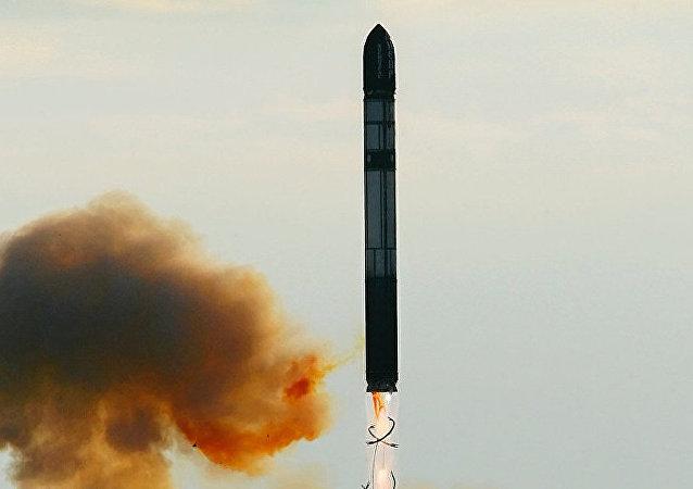 Mezikontinentální balistická raketa. Ilustrační foto