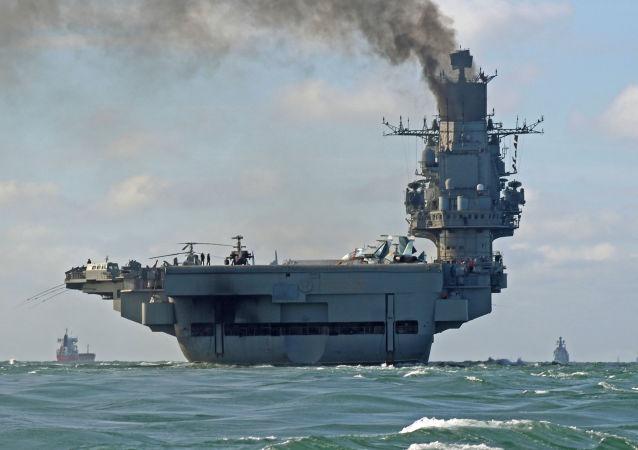 Admirál Kuzněcov v Lamanšském průlivu