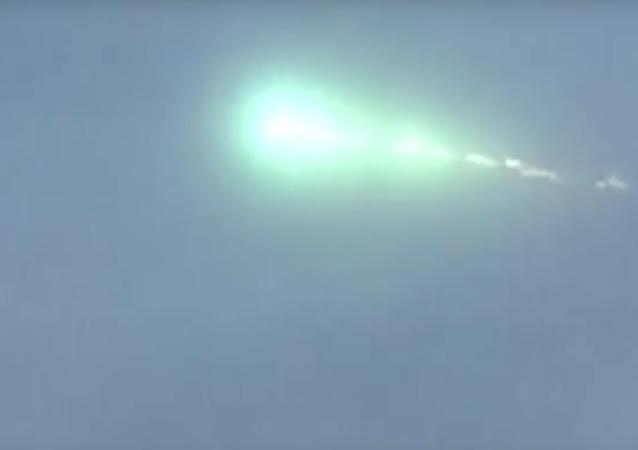 Svítící zelená koule byla pozorována na obloze nad Japonskem