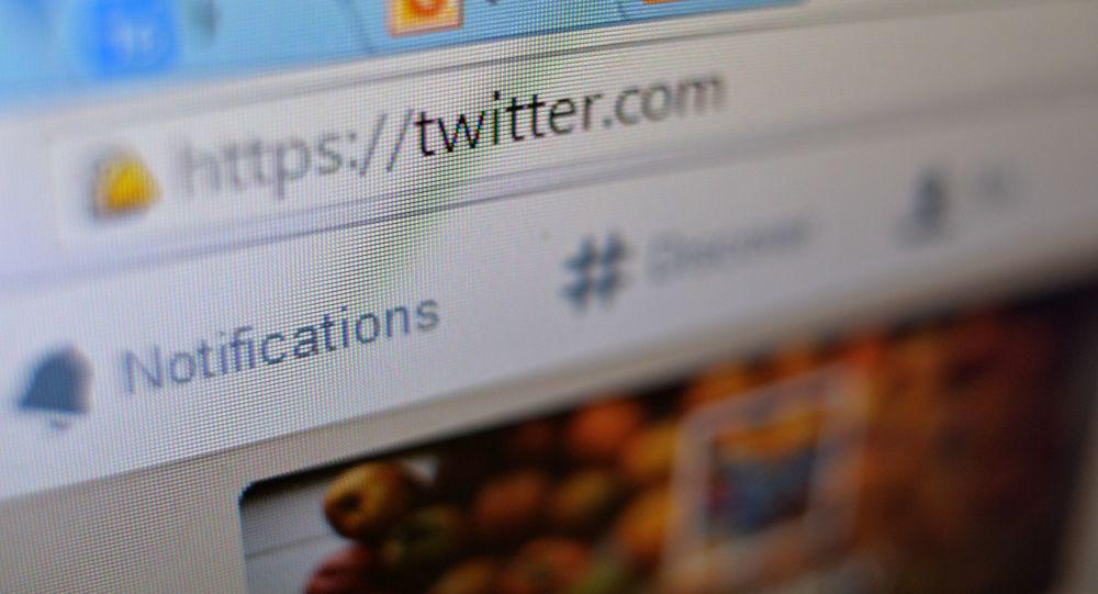 Webové stránky Twitter