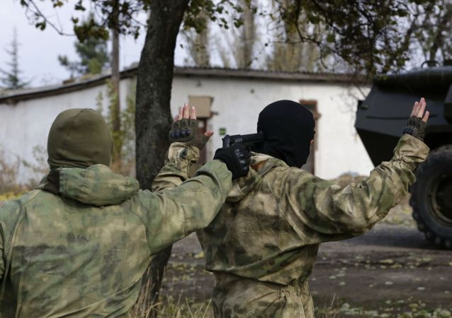 Příslušníci tajných služeb na Krymu