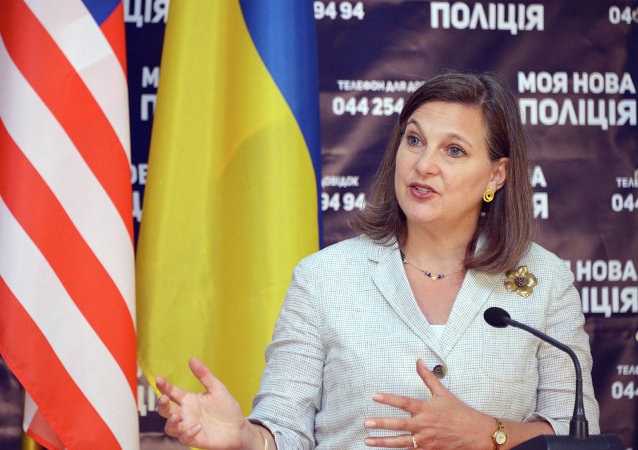 Pomocnice ministra zahraničí USA Victoria Nulandová