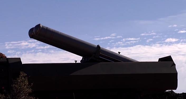 Starty raket s plochou dráhou letu Kalibr a Bastion na objekty teroristů v Sýrii