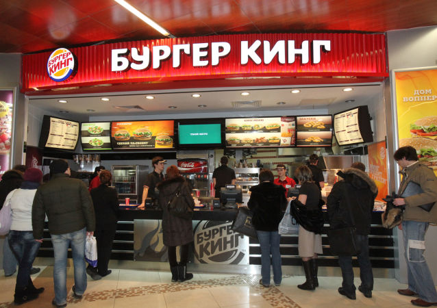 Burger King v Moskvě