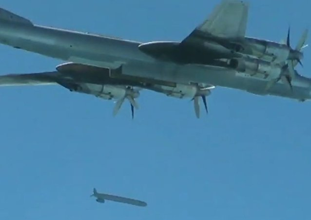 Tu-95 útočí na teroristy