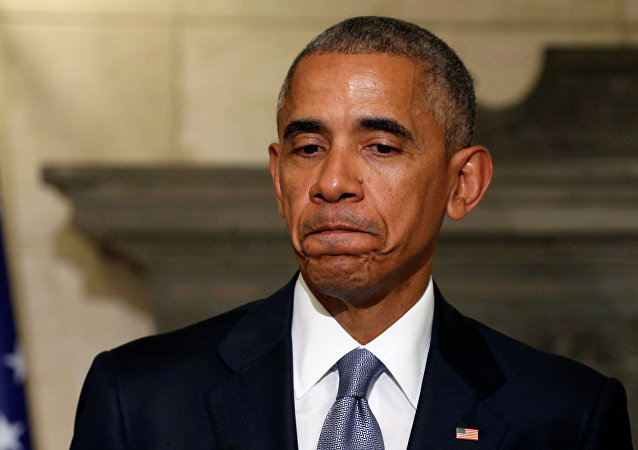 Dosluhující americký prezident Barack Obama