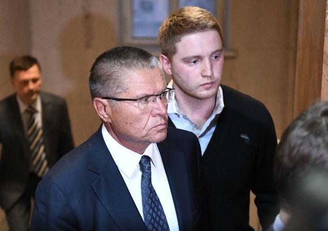 Bývalý ruský ministr hospodářství Alexej Uljukajev před soudem