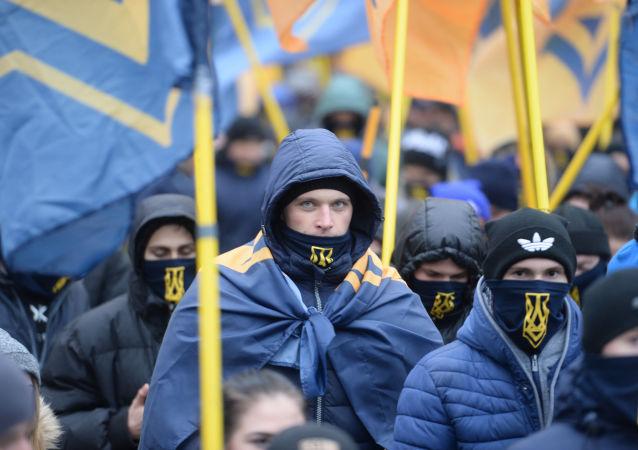 Účastníci protestních akce