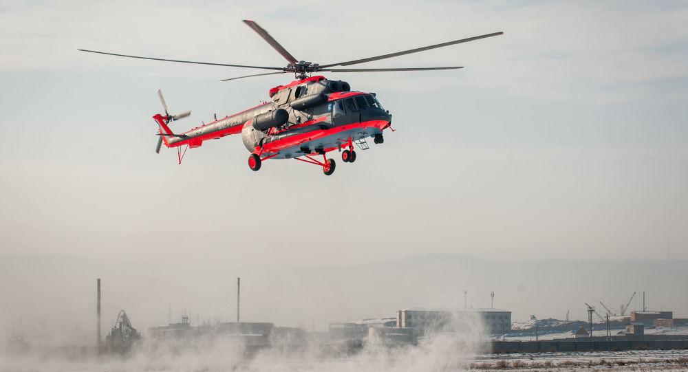 Arktický vrtulník Mi-8AMTŠ-VA