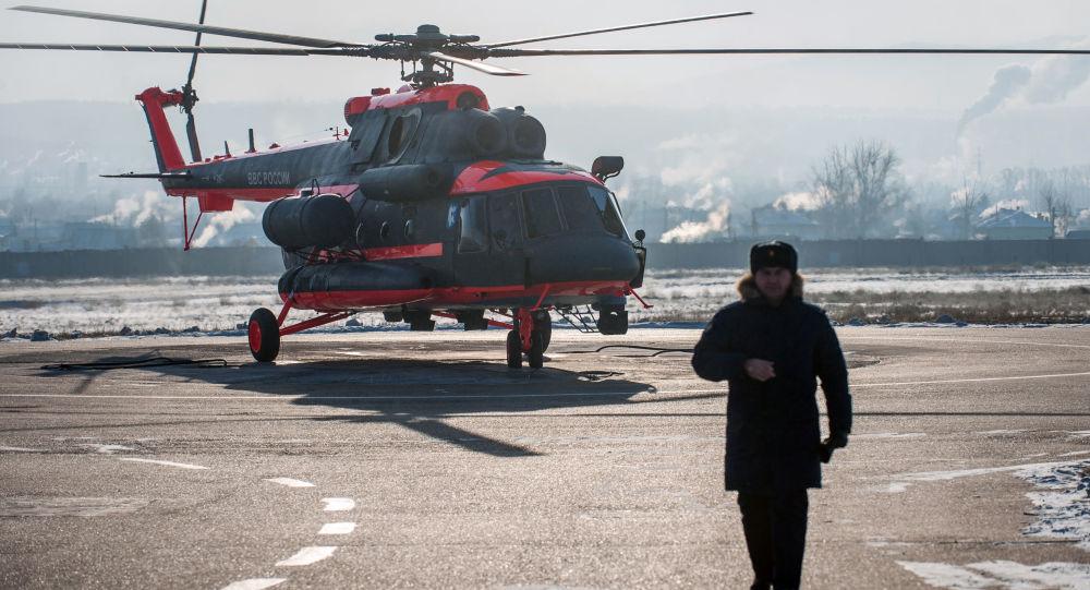 Zkoušky vrtulníku Mi-8AMTŠ-VA