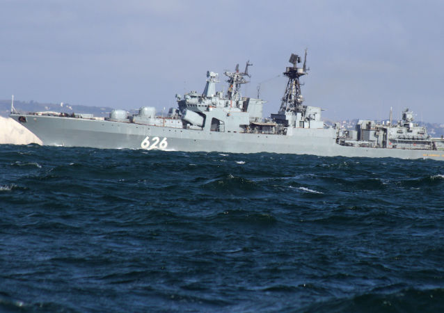 Ruský torpédoborec Viceadmirál Kulakov