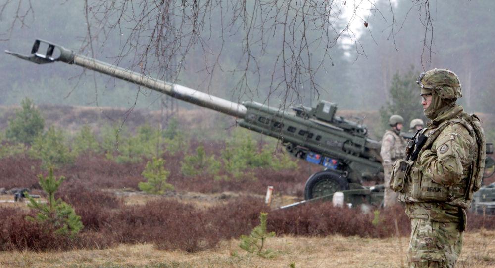 Vojáci NATO v Lotyšsku