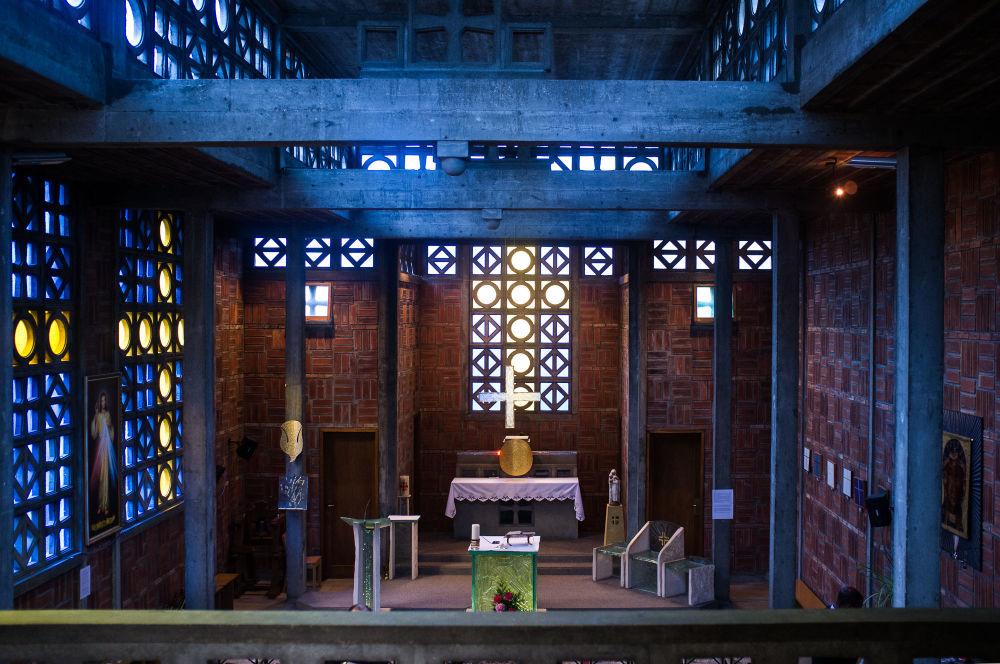 Neobvyklá architektura církevních staveb