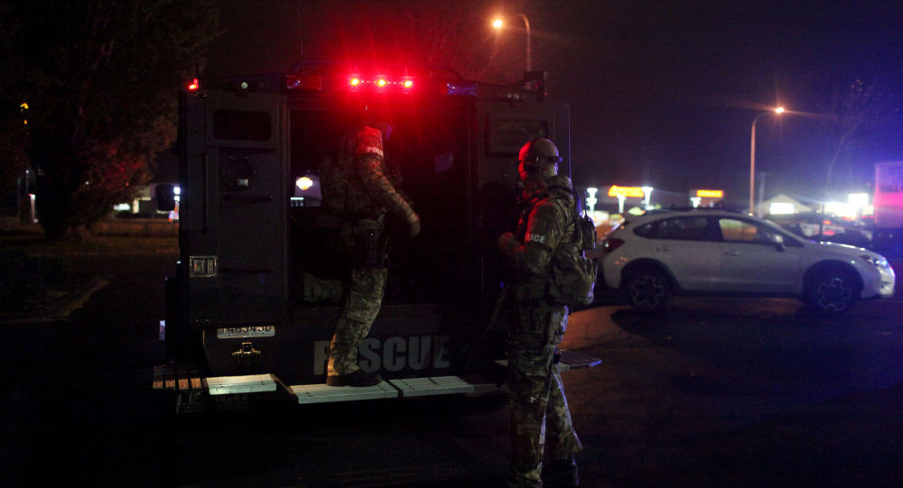 Americká policie. Archivní foto