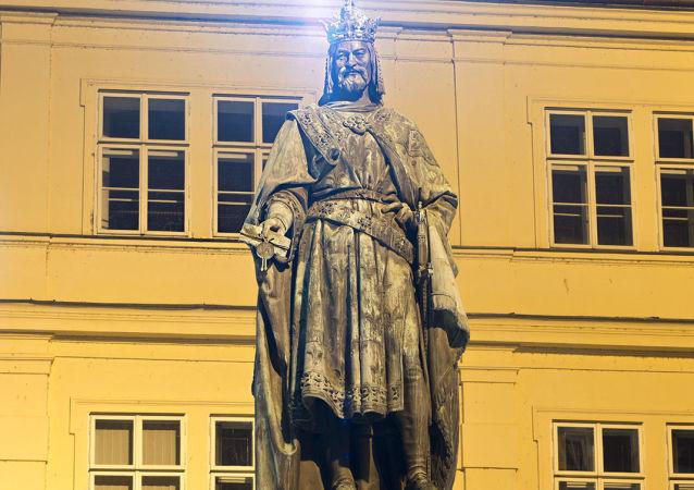 Karel IV v Praze
