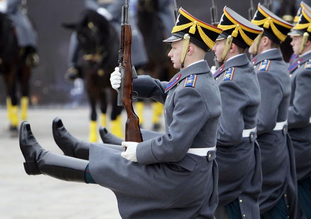 Čestná stráž, Moskva