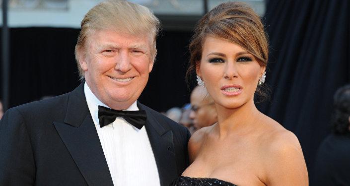 Donald Trump a Melania Trumpová