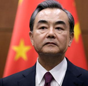 Ministr zahraničí ČLR Wang I