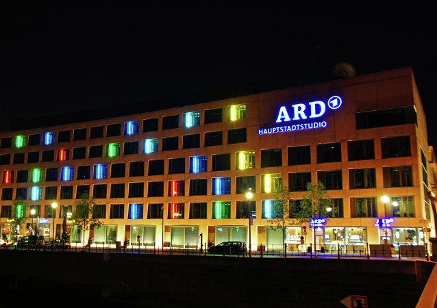 Studio ARD v Berlíně. Ilustrační foto