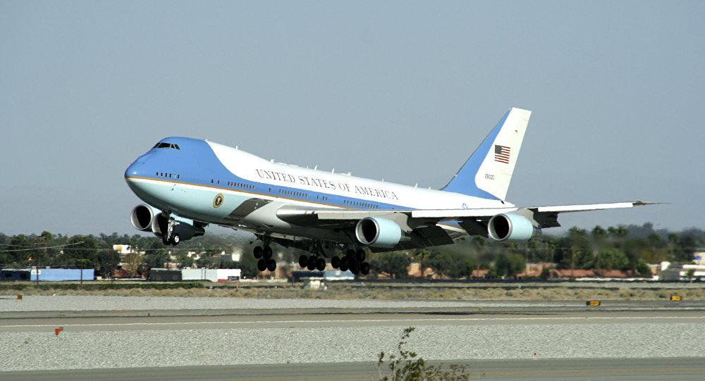 Air Force One prezidentů USA. Ilustrační foto