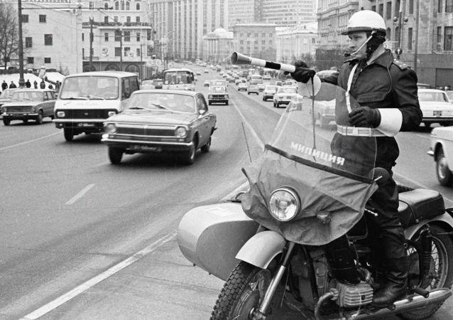 Příslušník dopravní policie