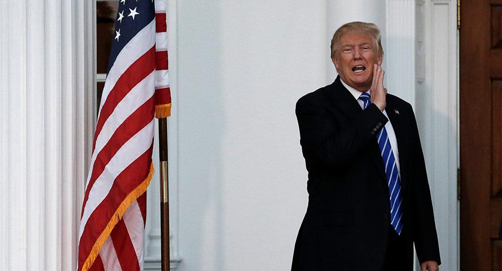 Nově yzvolený prezident USA Donald Trump